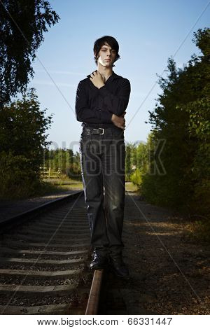 Emotion Photo Of Young Man