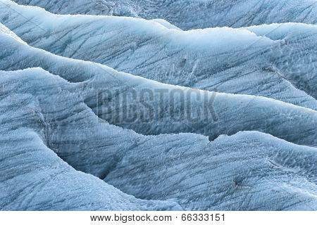 Blue Ice In The Skaftafellsjokul