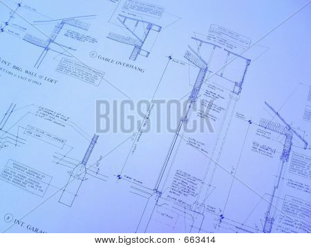 House Construction Blueprint