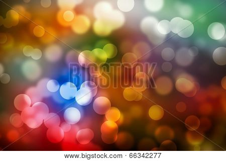 Color background blur- Christmas light