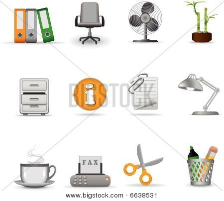 Office Icons 1 Joy series
