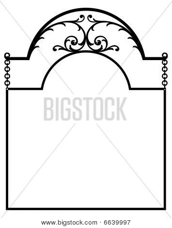 Arched Top Sign Panel