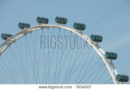 Cylindrical Cars on Ferris Wheel