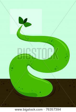 Plant Monster, Illustration