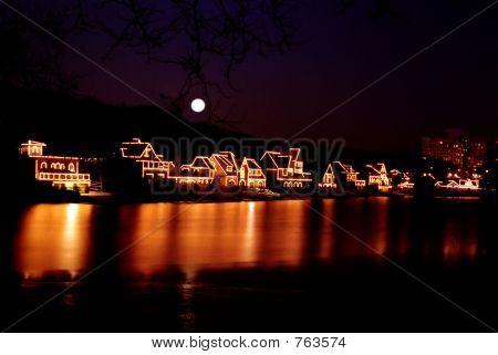 B Hse Row Night_E4990