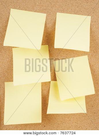 Notes On Corkboard