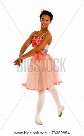 African American Ballerina Dancer