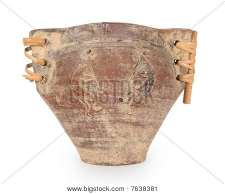 Native American Indian  Water Jug