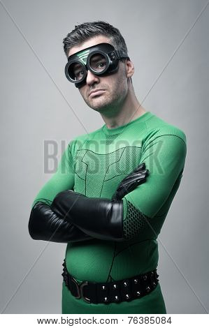 Cool Superhero Posing