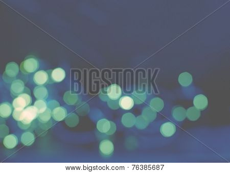 Blue green light background