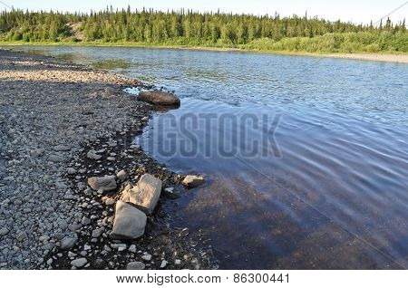 Taiga River Paga, Virgin Komi Forests.