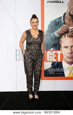 LOS ANGELES - MAR 25:  Alyssa Milano at the
