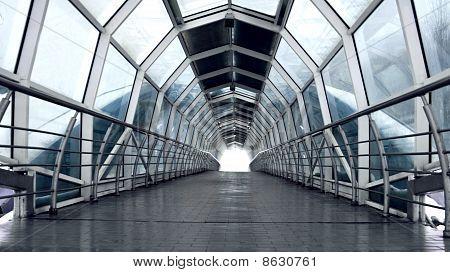 modern foot bridge