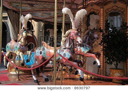 Carrousel paarden