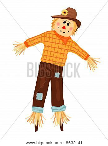 Autumn Celebrations With Scarecrow