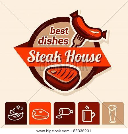 best steak logo