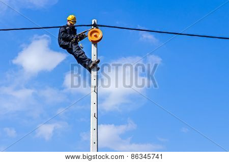 Work On A Pole