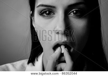Mental illness,stress,mental problems.Pharmaceutical conspiracy conspiracy concept.Drug addiction