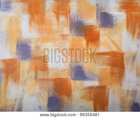 Abstract Artwork On Canvas