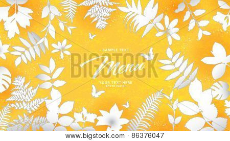 abstract flora background 05