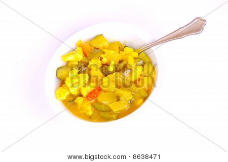 Bowl of Piccalilli
