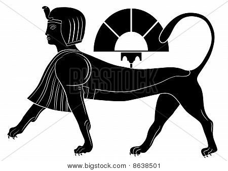 Sphinx - mythical creatures of ancient Egypt