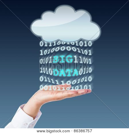 Big Data Transferring Between Cloud And Open Palm