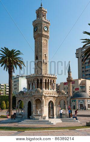 Izmir, Turkey. Konak Square Tower