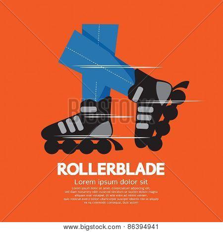 Rollerblade Or Roller Skates.