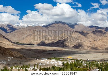 View From Shey Palace, Ladakh, India