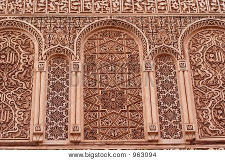 Ancient Arabic Facade