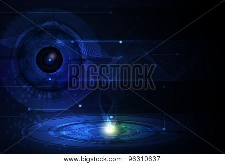 Abstract Tecnology Background