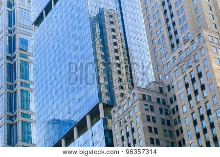 Facades Of Chicago Loop