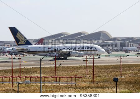 Singapore Airlines In Los Angeles