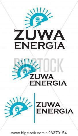 Zuwa logo  - EPS format available.