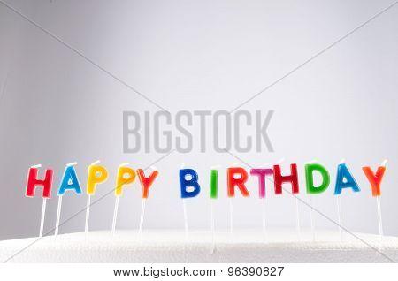 Text Happy Birthday