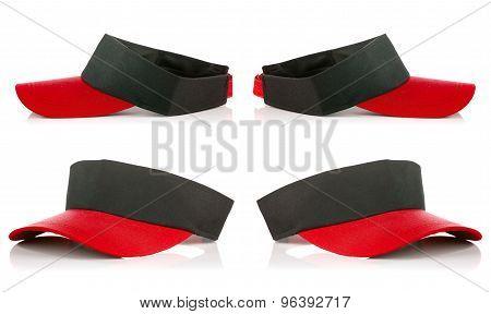 Red Tennis Cap