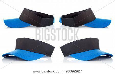 Black And Blue Tennis Cap