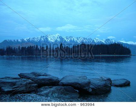 Lake At Dusk: Queenstown