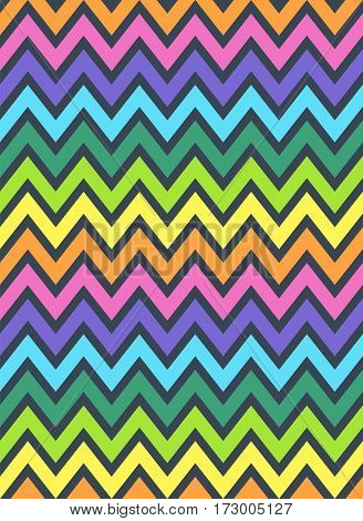 abstract zig zag background wave triangles pattern