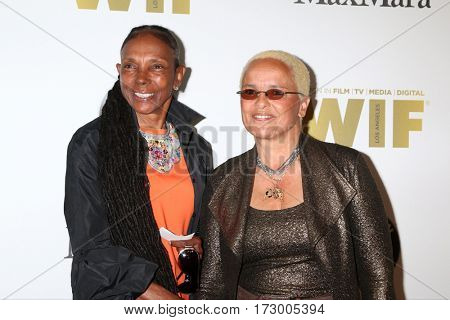 LOS ANGELES - JUN 15:  Candace Bowen, Shari Belafonte at the Women In Film 2016 Crystal and Lucy Awards at the Beverly Hilton Hotel on June 15, 2016 in Beverly Hills, CA