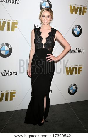 LOS ANGELES - JUN 15:  Greer Grammer_ at the Women In Film 2016 Crystal and Lucy Awards at the Beverly Hilton Hotel on June 15, 2016 in Beverly Hills, CA
