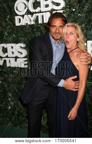 LOS ANGELES - OCT 10:  Thorsten Kaye, Alley Mills at the CBS Daytime #1 for 30 Years Exhibit Reception at the Paley Center For Media on October 10, 2016 in Beverly Hills, CA