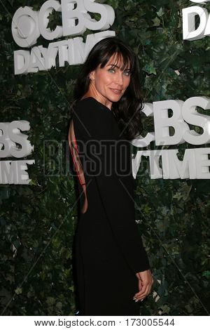 LOS ANGELES - OCT 10:  Rena Sofer at the CBS Daytime #1 for 30 Years Exhibit Reception at the Paley Center For Media on October 10, 2016 in Beverly Hills, CA
