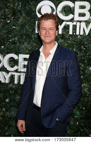 LOS ANGELES - OCT 10:  Jonathan Mangum at the CBS Daytime #1 for 30 Years Exhibit Reception at the Paley Center For Media on October 10, 2016 in Beverly Hills, CA