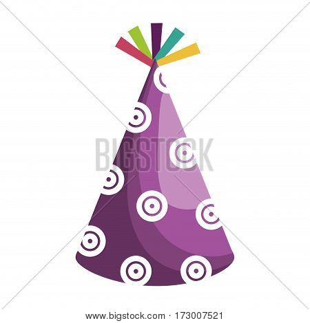 hat party isolated icon vector illustration design