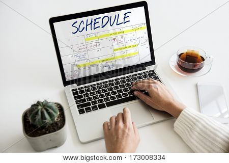 Schedule Agenda Management Planner Reminder