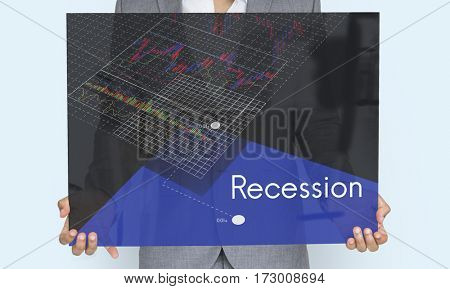 Stock Crisis Recession Loss Decrease Graph
