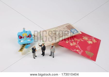 Chiness New Year With Red Packet