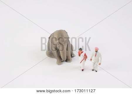 Plastic Animal Toy With Figure